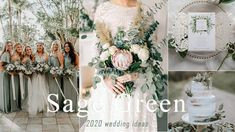 Refreshing, tender, exquisite and very relaxing, sage green is one of the few colors that looks good year-round, and also works for nearly every wedding style. The natural green shade gives you the opportunity to bri. Olive Green Weddings, Emerald Green Weddings, Sage Green Wedding, Metallic Wedding Colors, Summer Wedding Colors, Wedding Invitation Trends, Affordable Wedding Invitations, Gold Wedding Theme, Purple Wedding