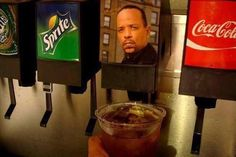 ice-t not only loves coco....but loves sprite and coke, too