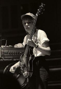 Tina Weymouth my favourite bass player