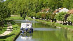 Louer un bateau sur le Canal de Bourgogne