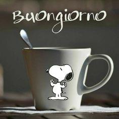 Happy Day, Good Morning, Snoopy, Mugs, Tableware, Buen Dia, Dinnerware, Bonjour, Tumblers