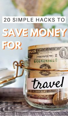 Are you trying to save money for travel but not getting anywhere very fast? Follow the steps I give here and you'll be traveling much sooner than you think. Click through to read now...
