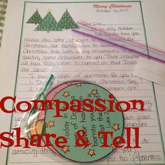October Compassion Share & Tell - join this link up to share what you sent to your sponsored child this month