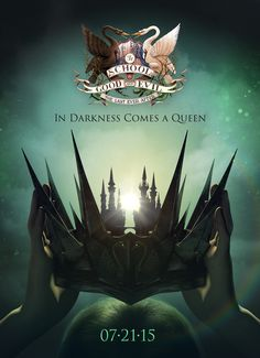 """The Official Poster for THE LAST EVER AFTER by Soman Chainani 