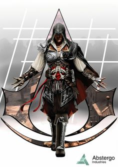 Ezio Animus Animated Loading Screen GIF by Joker-laugh