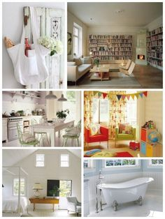 Vintage Romance:  My Dream Vacation Home — Inspiration Roundup