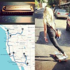 Skateboarding, Road trips, Harmonicas, Oh My!