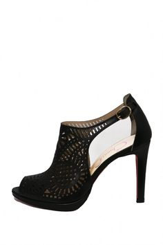 Pine in black leather.Another stunning dressy shoe from Chanii B!  Black High Heel by Chanii B. Shoes - Pumps & Heels Canada