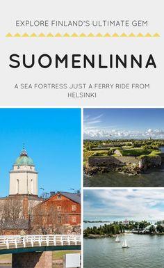 #SUOMENLINNA #HELSINKI #FINLAND #EUROPE #TRAVEL | Things to do in Helsinki | UNESCO Workd Heritage Site