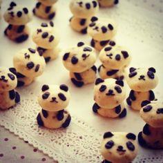 Panda Cookies// @Justina Balnaite Sriubaite