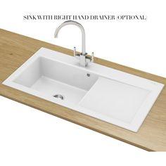 Alternate image of Franke Mythos MTK 611 Ceramic 1.0 Bowl Kitchen Inset Sink