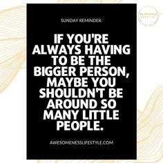 Bigger Person, Little People, Letter Board, Entrepreneur, Lettering, Life, Short People, Drawing Letters, Petty People