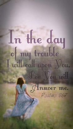 Psalms 86:7