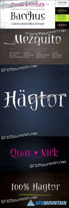 Haegtor Font for $25