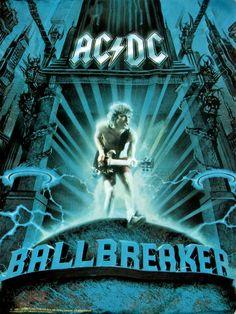 AC/DC - Ballbreaker Póster en tela