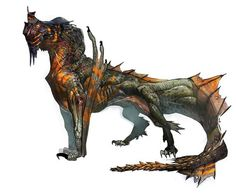Wyvern concept art from Dragon Age: The World of Thedas, Vol. 1
