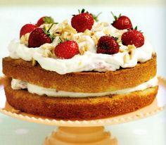 Strawberry Hazelnut Gateau Recipe *** For more information on the recipe, visit image link.