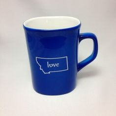 Montana Love Mug in Blue