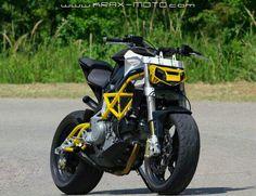 Krax Moto Bimota Fighter Motorcycle Outfit, Motorcycle Bike, Motorcycle Design, Futuristic Motorcycle, Er6n, Stunt Bike, Moto Cafe, Ride Out, Drag Bike