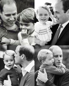"""1,188 Likes, 10 Comments - The Perfect Little Family (@british_royals) on Instagram: """"William and George """""""