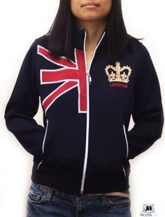 union jack clothes and shoes for babies | Union Jack Sweater | for Women | Navy | size S to XL | London ...