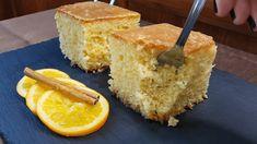Γρήγορο και απλό σιροπιαστό κέικ πορτοκάλι που θα σας αρέσει πολύ. Η συνταγή είναι από το κανάλι Sotiria amor Υλικά 4 μεγάλα αυγά 300gr. ζάχαρη 500gr. αλεύρι φαρίνα 250gr. βούτυρο αγελάδος λιωμένο 150ml. χυμό πορτοκάλι ξύσμα πορτοκαλιού για το σιρόπι 500ml. χυμό πορτοκάλι 400ml. νερό 3 Cornbread, Ethnic Recipes, Amor, Millet Bread, Corn Bread