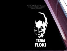 Team Floki from Vikings TV show Die Cut by ROXXORDecals, $5.00 I NEED THIS!!!