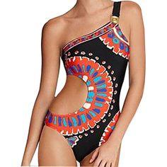 Loyalt Children Baby Girls Trend Cute Irregular Strap Bikini Ruffled Beach Swimsuit Bathing Swimwear Summer for 0-4 Years