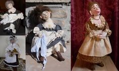 SFM Cloth Dolls With Attitude!: Dolls made from my patterns 2010
