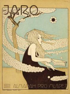 Jaro. Almanach pro mládež | Vojtěch Preissig | 1901 | Www.Esbirky.Cz | CC0