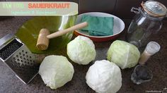 If you have just a few heads of cabbage, some salt and a few jars, you can easily make your own raw sauerkraut at home! It's so easy to make that you will be wondering why you didn't make it sooner! Cabbage is not expensive, and once the sauerkraut is made, you only need to add about 2 Tbsp. per day to your salad or veggies to get the good bacteria that your body needs.
