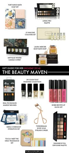 Christmas gift ideas: Find the perfect x-mas gift for moms, sisters, girlfriends, and besties who are beauty addicts. #giftsforher