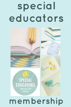 Is Special Educators Resource Room for you? Professional learning on topics you need and a downloadable data collection library waiting for you! Get ready for your most organized year ever! #resourceroom #specialeducators