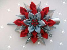 Grey n red flower