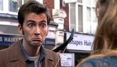 BBC Latest News - Doctor Who - 10 of the Doctor's best expressions!