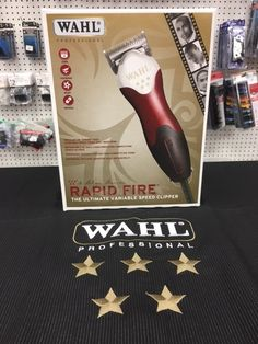 Wahl 5Star Rapid Fire Clipper #abbs #Atlanta #barber #supply #Wahl #5star #rapid #fire #clipper Barber Shop Supplies, Barber Clippers, Day Work, Beauty Supply, Cosmetology, Atlanta, Fire, Tools, Star