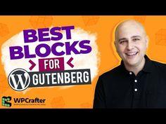 Best Gutenberg Blocks Plugin - Ultimate Addons For Gutenberg (FREE) Make Money Blogging, How To Make Money, How To Become, Becoming A Blogger, Free Youtube, Creating A Blog, Seo Tips, Wordpress Plugins, Blogging For Beginners
