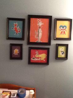 Dr. Seuss wall decor