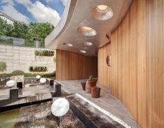 ~ One Taste Holistic Health Club Interior Design #spa #health #club