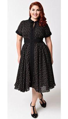 1950s Style Dresses, Pinup Dresses, Swing Dresses | Tartan