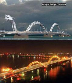 Dragon Bridge,Vietnam