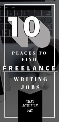 Here are 10 places you can find writing jobs that PAY! A list with links back to the sites! Start a writing career now! #freelancewriting #makemoneyonline