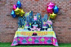 girls superhero party | Girl Superhero Party by Brittany Schwaigert | Birthday Express