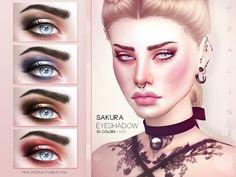 Pralinesims' Sakura Eyeshadow N33