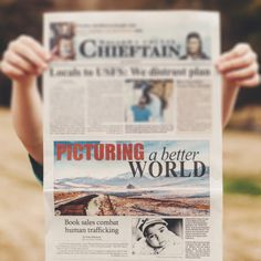 The Shoot The Skies book made the cover of The Chieftain newspaper. This is my first cover ever! Read the article at wallowa.com You only have a week left to buy a book, so make sure you don't miss your chance to get a book to abolish human trafficking.  buy a book http://igg.me/at/shoottheskies