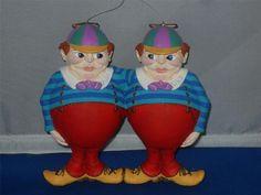 *TWEEDLE DEE & TWEEDLE DUM ~ Alice in Wonderland Dept 56 Mother GOOSE Ornament   eBay