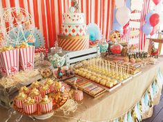 The Greatest Showman Top Notch Party Ideas - Paige's Party Ideas Popcorn Cupcakes
