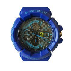 Casio G Shock In Blue Sport Unisex Watch.  #fashion, #style, #watch, #men, #women, #trend, #casio, #gshock