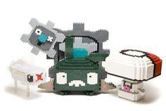 Pokémon der neuen Generation in LEGO - pokemon - Lego Lego Pokemon, Pokemon Cards, Pokemon Stuff, Lego Sets, Lego People, Lego Blocks, Lego For Kids, Lego Castle, Lego Minecraft