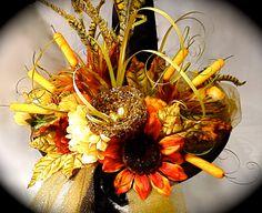 Sunset Fields Witch Hat  Halloween OOAK by Marcellefinery on Etsy, $72.00